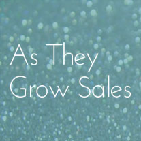 As They Grow Sales