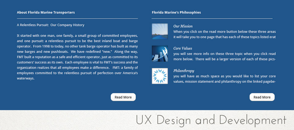 UX Design and Development